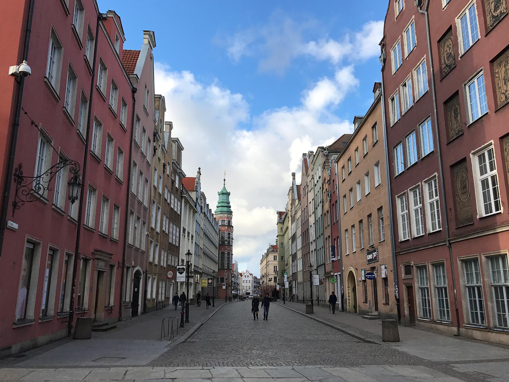 Tkacka, Gdańsk