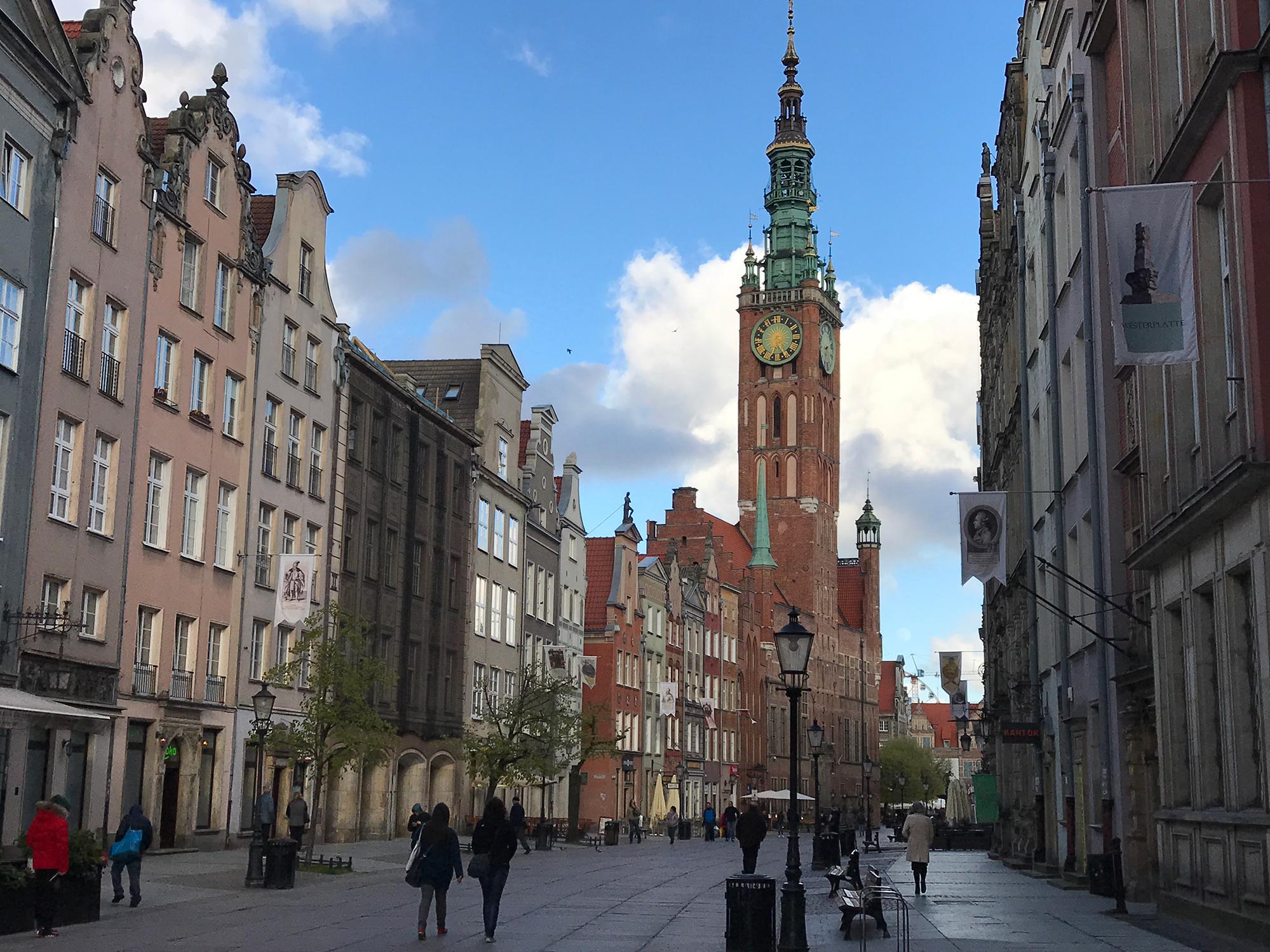 Długa and Ratusz Głównego Miasta (Main Town Hall), Gdańsk