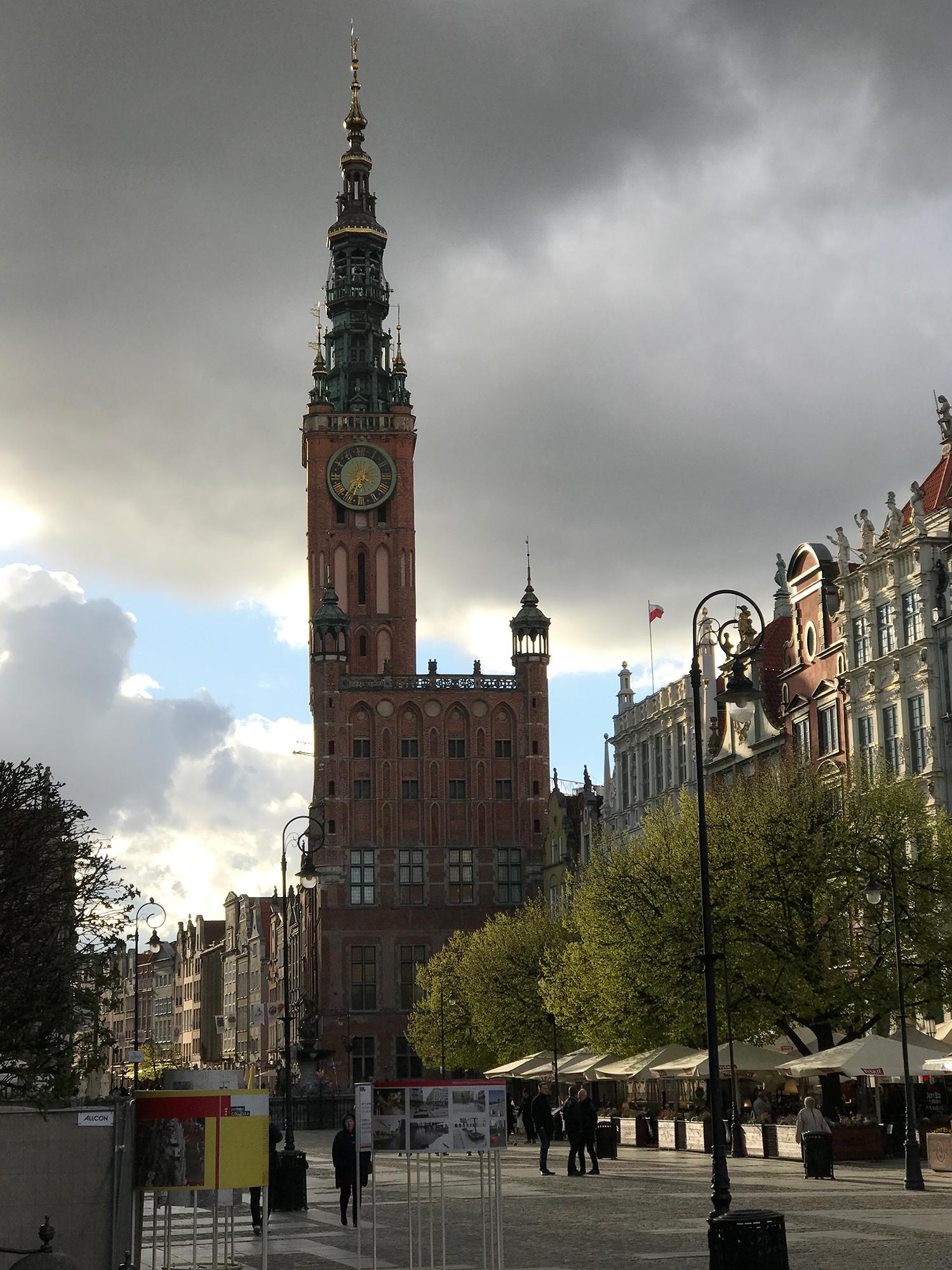 Długi Targ and Ratusz Głównego Miasta (Main Town Hall), Gdańsk