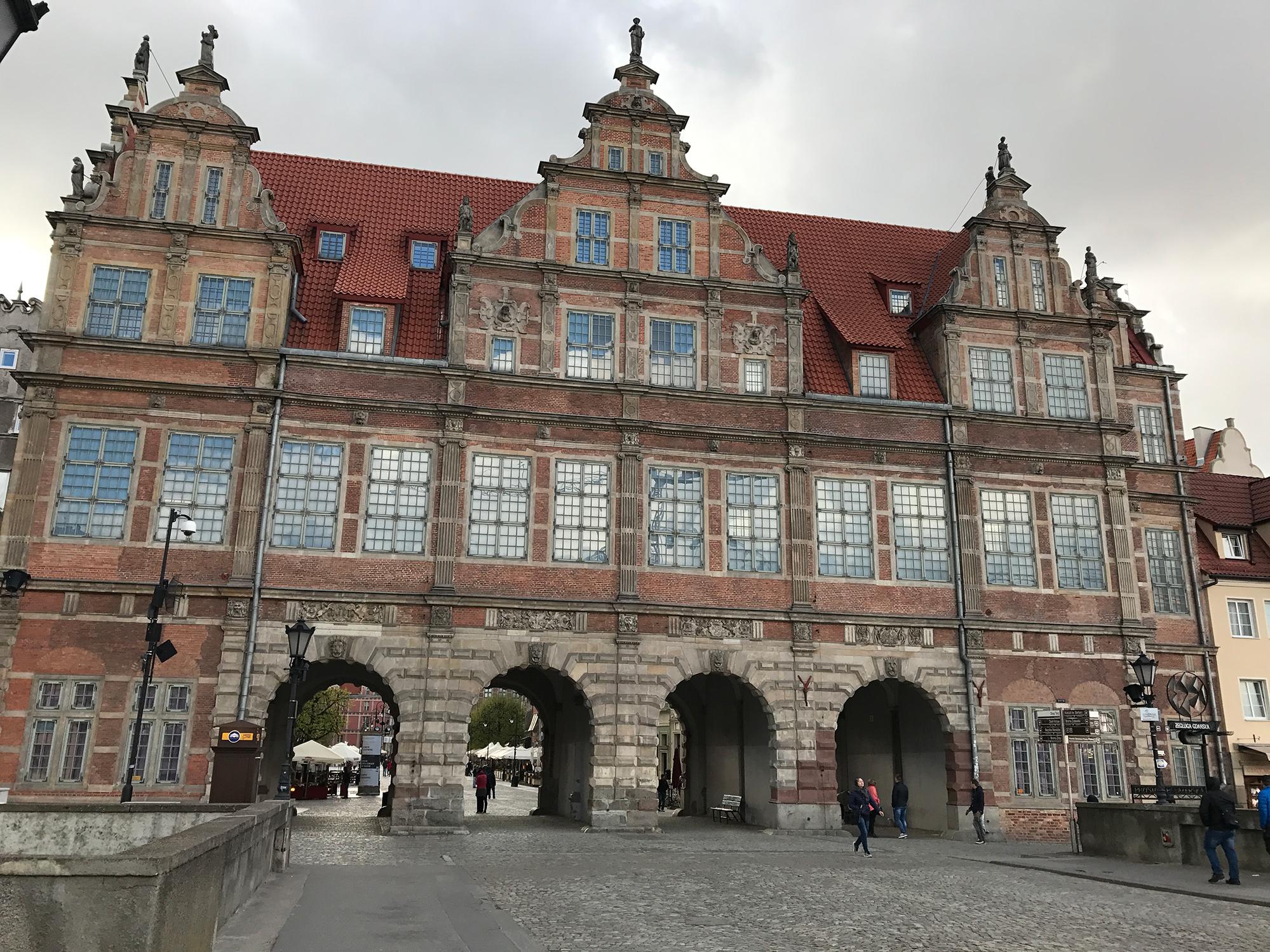 Zielona Brama (The Green Gate), Gdańsk