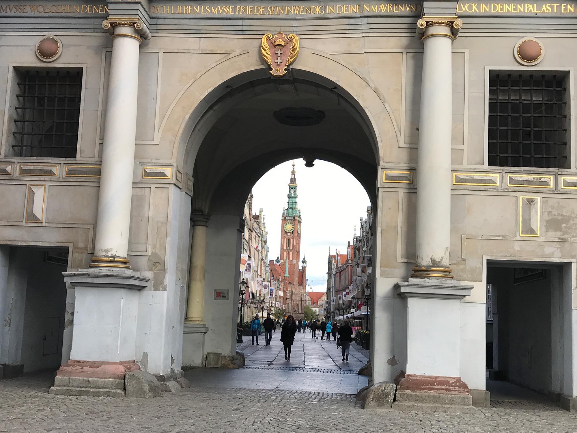Zlota Brana, (Golden Gate), Targ Węglowy, Gdańsk