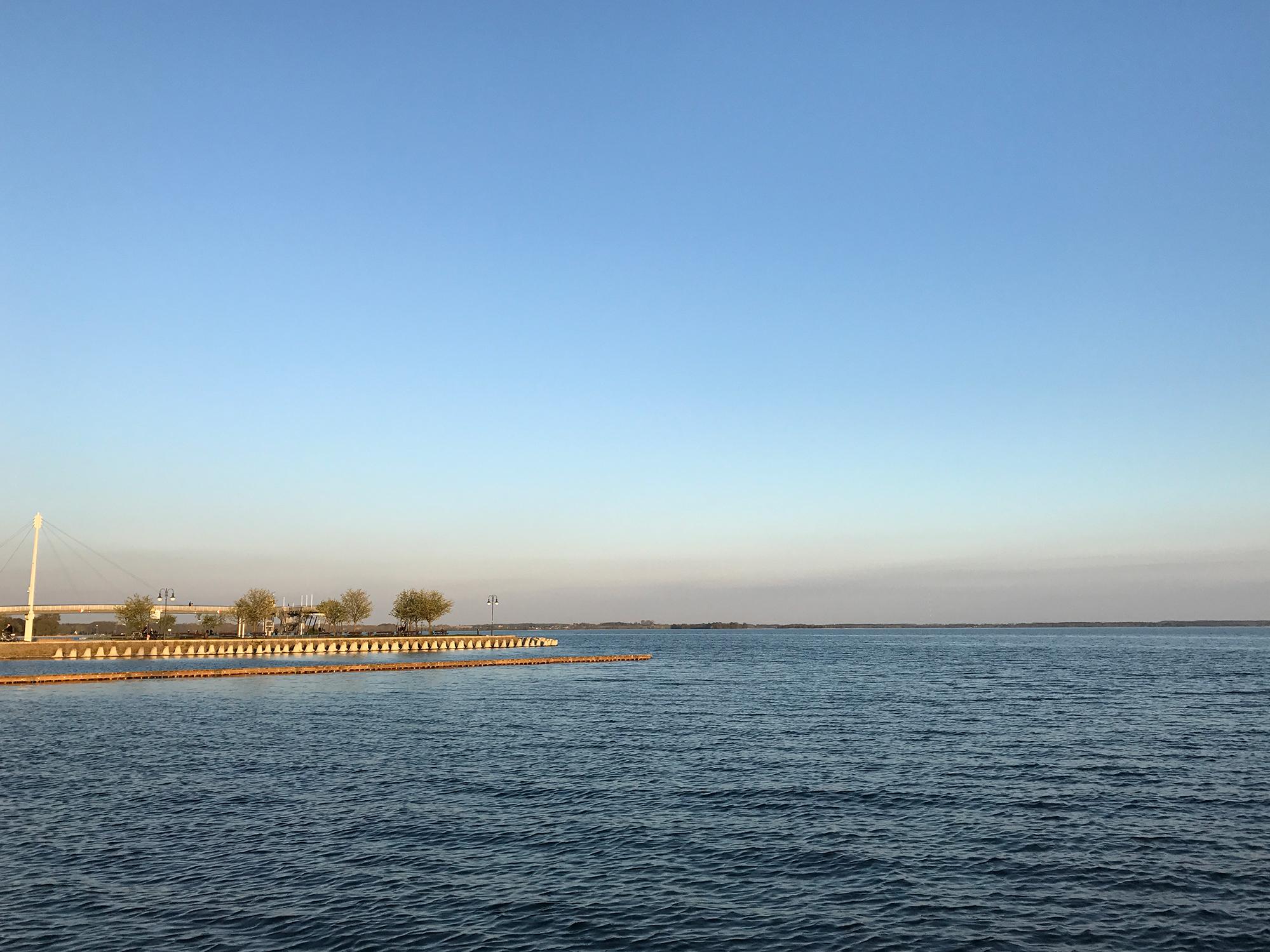Lake Jezioro Niegocin in Giżycko