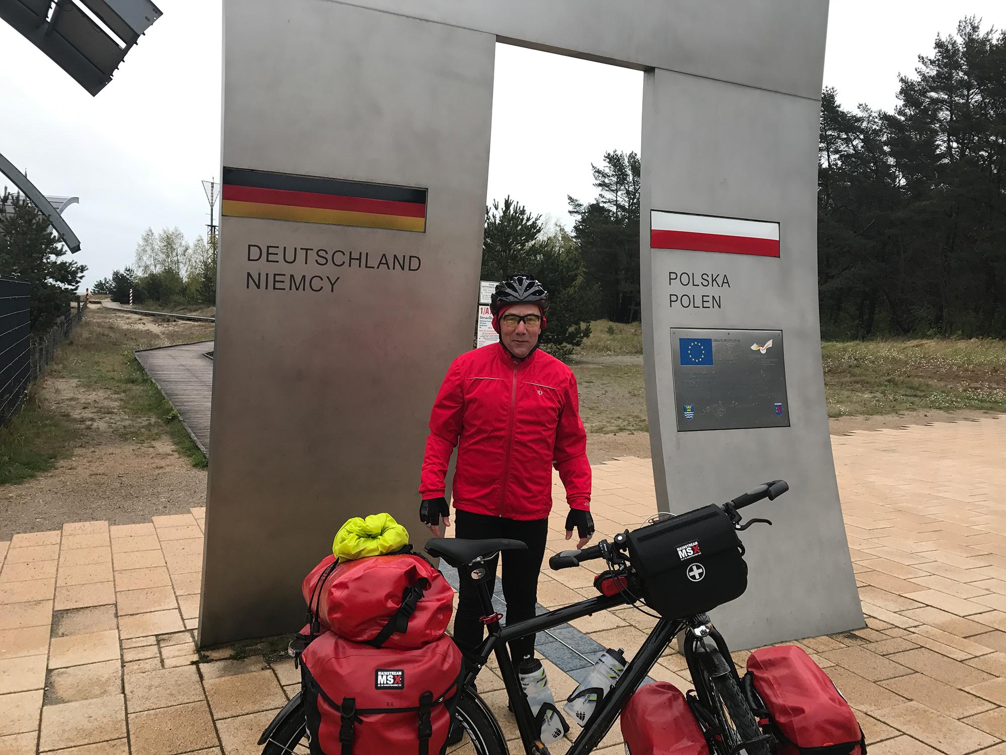 At the German-Polish border
