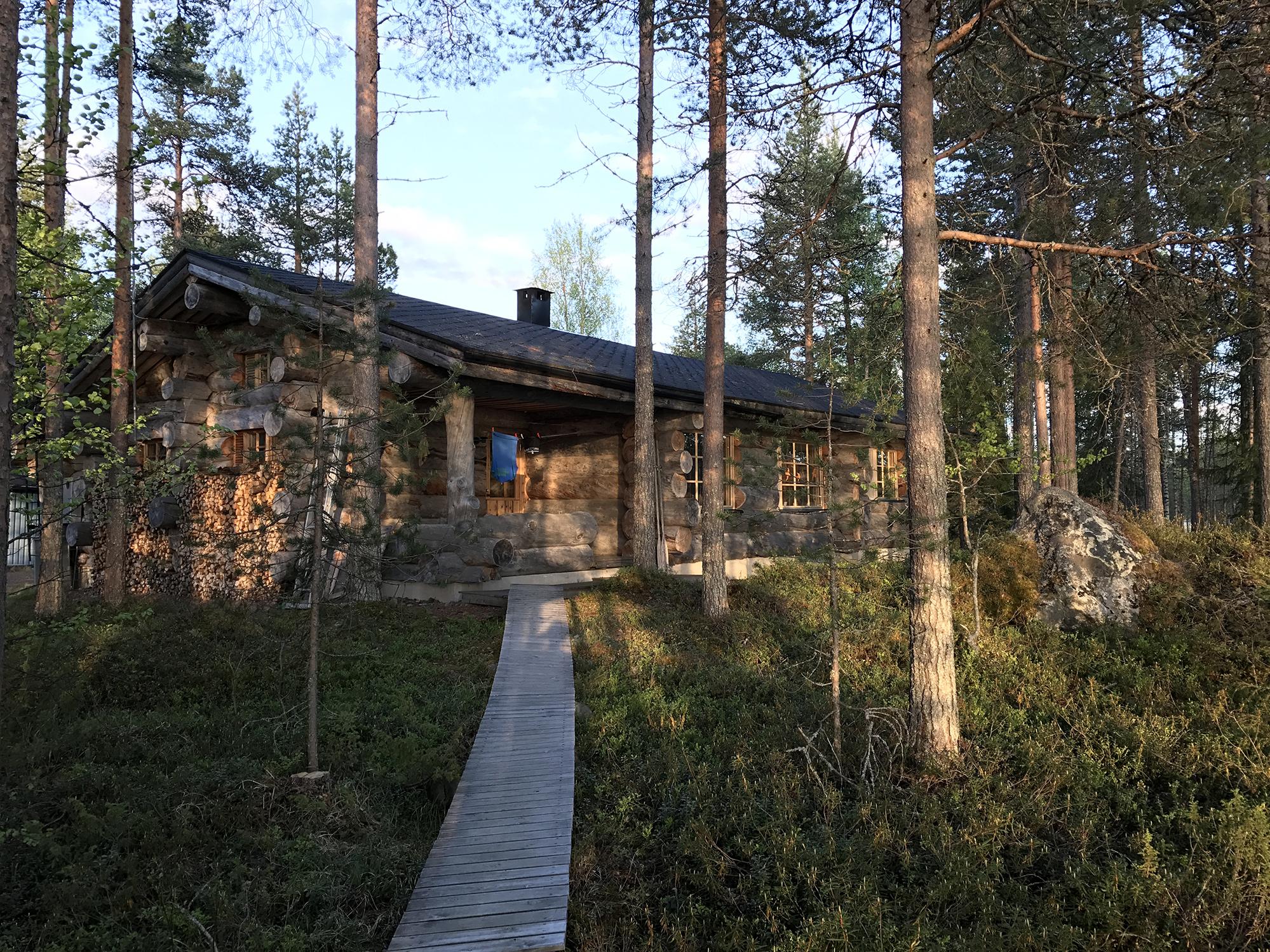 Anne & Axel's blockhouse