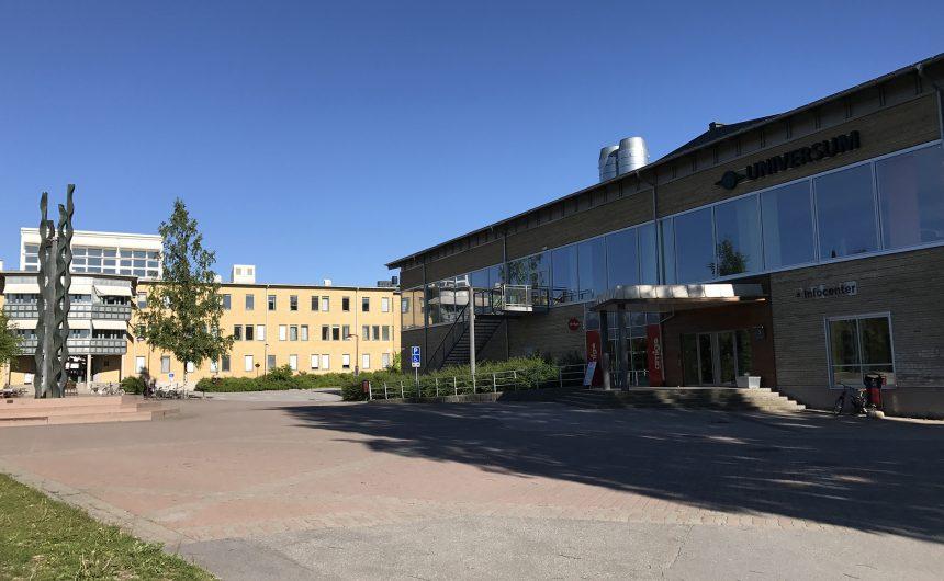 Umeå University campus