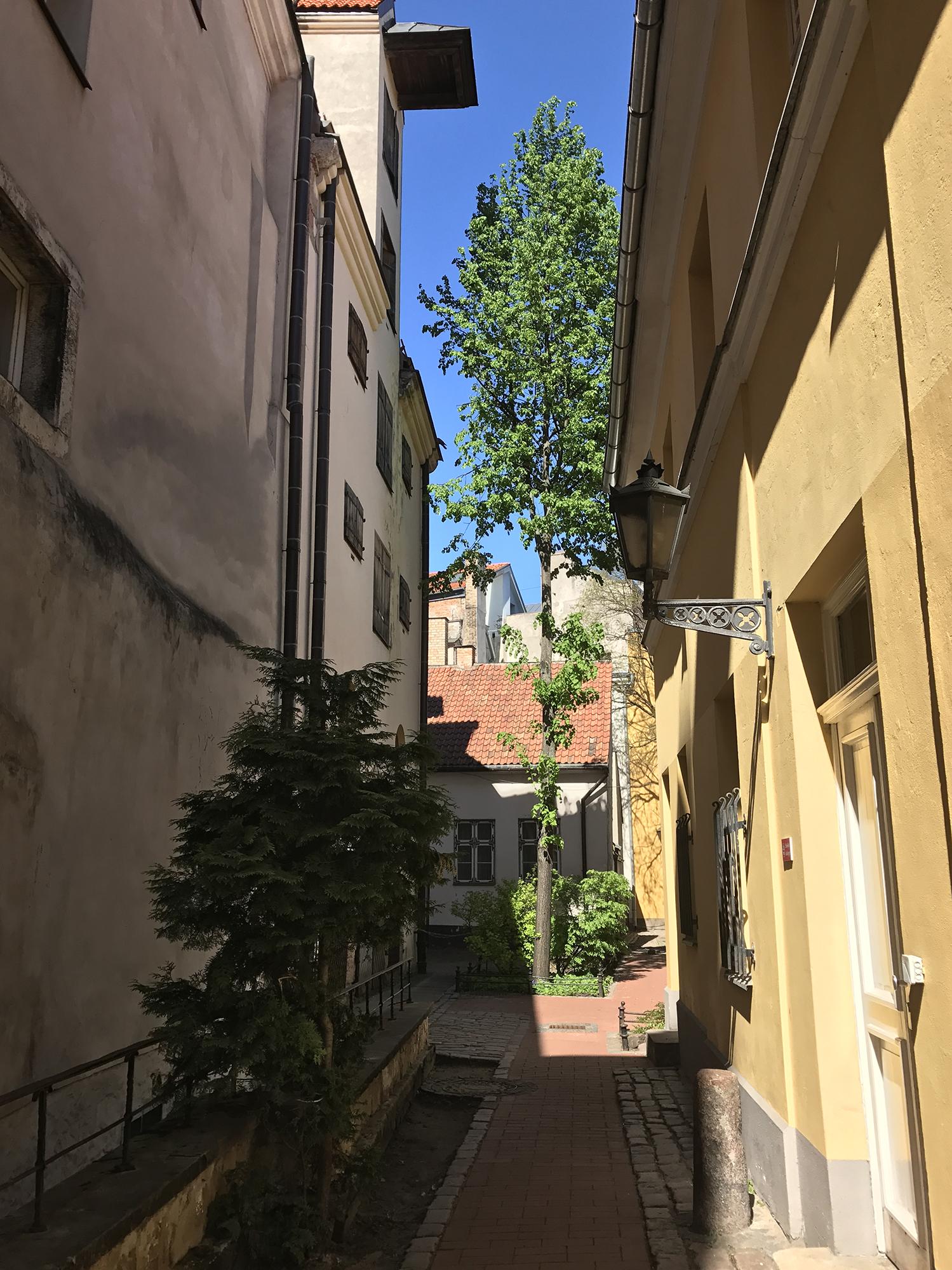 Old town, Rīga